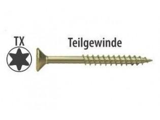 Spanplattenschrauben TORX 5,0x100mm