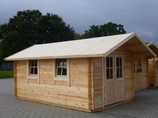 Gartenhaus GRONAU 3,0x5,0m mit Boden