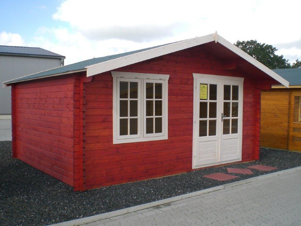 Gartenhaus DAVID   5,00 x 4,00m   Garten Akzent