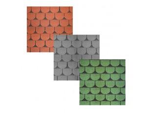 Bitumendachschindel Biberschwanz/BEAVER STANDARD 3qmPack