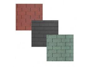 Bitumendachschindel Rechteck/3 TAB STANDARD 3qm/Pack