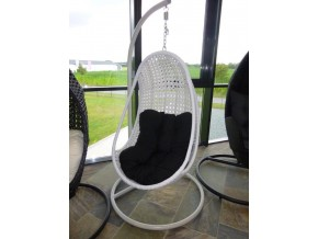 FUNNY POLYRATTAN in weiss