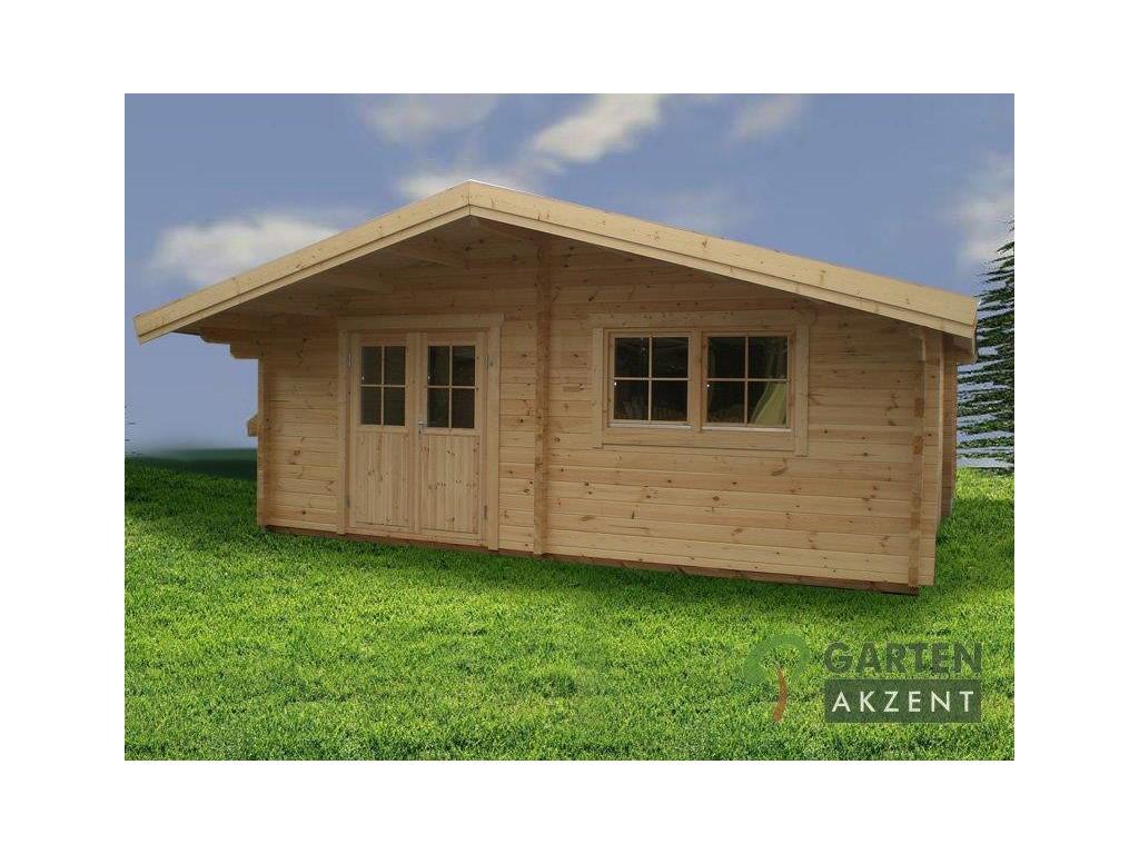 gartenhaus grando 6 0 x 6 0m mit 3 r umen garten akzent. Black Bedroom Furniture Sets. Home Design Ideas