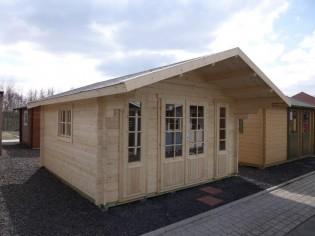 Gartenhaus CAPRI - 4,18 x 4,18m mit Boden