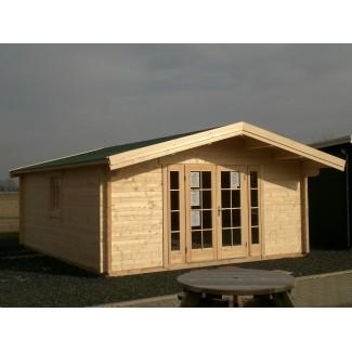 Gartenhaus RONDO 56 - 5,0 x 6,0m