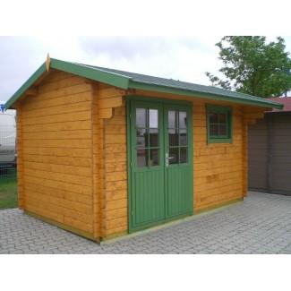 Gartenhaus LIVORNO - 4,18 x 2,68m mit Boden