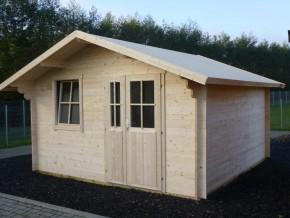 Gartenhaus VIOLA - 4,00 x 4,00m mit Boden