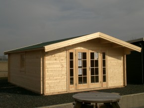 Gartenhaus RONDO 56 - 5,0 x 6,0m mit Fussboden
