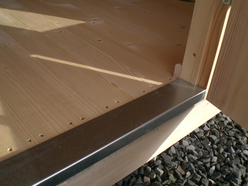 Unterkonstruktion Fußboden Im Gartenhaus ~ Gartenhaus anna cm mm doppelnut inklusive boden r aum