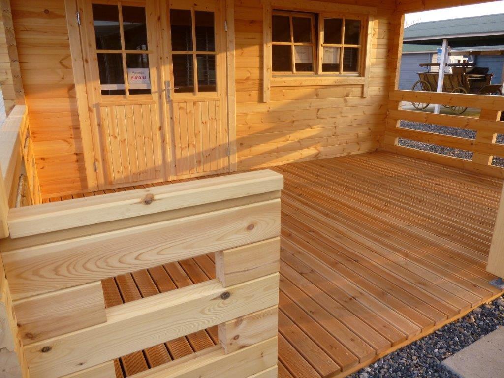 gartenhaus hugo 55 5 0 x 5 0m 3m veranda mit fussboden. Black Bedroom Furniture Sets. Home Design Ideas