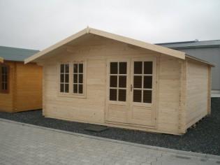 Gartenhaus DAVID 5,00 x 4,00m mit 28mm Fussboden