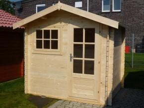Gartenhaus LILY - 2,5 x 2,0m mit Fußboden