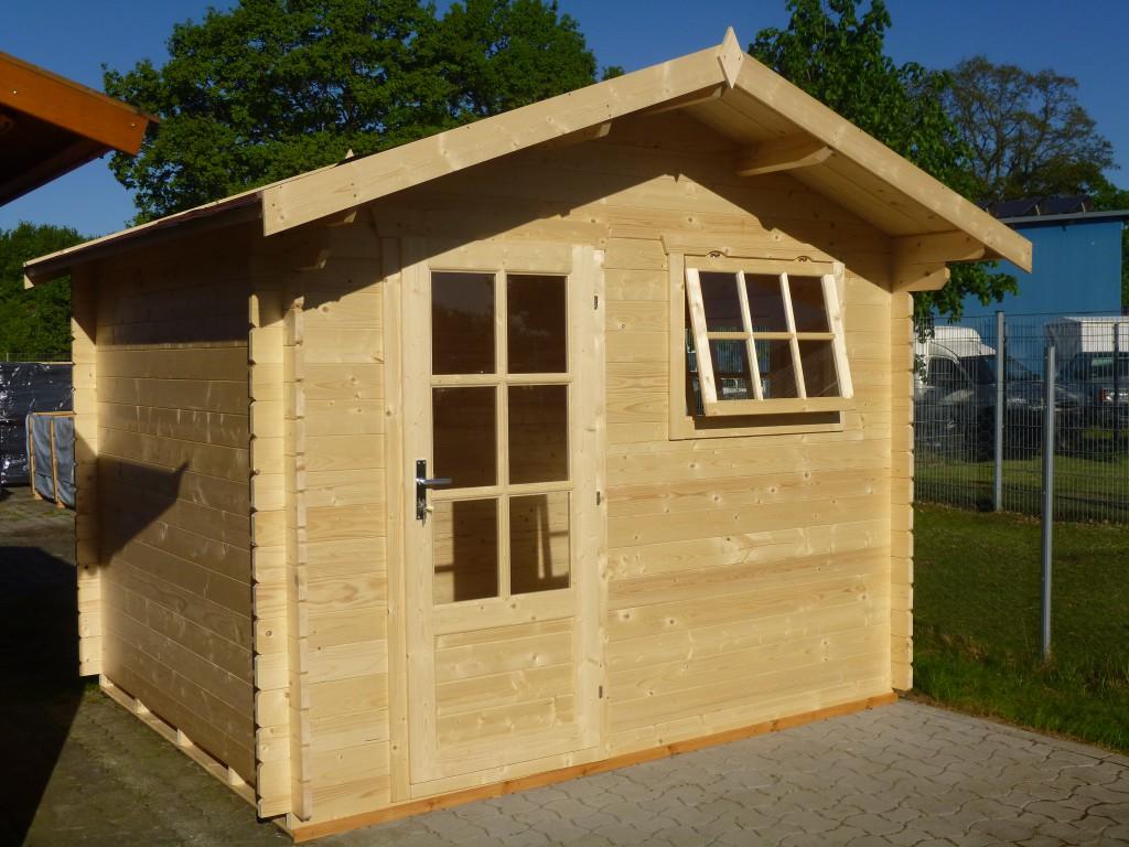 Gartenhaus Alex 3 00 X 2 50m Mit Boden