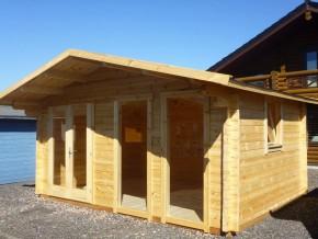 Gartenhaus EMSLAND 5,0 x 3,7 mit Fußboden
