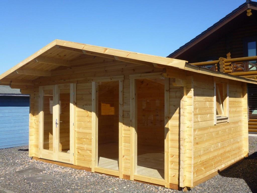 Fußboden In Gartenhaus ~ Gartenhaus aus holz blockhaus m mit fußboden in