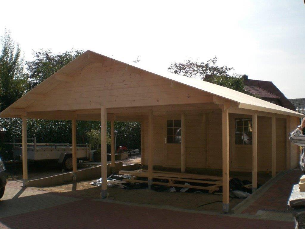 Gartenhaus Carport Anna Ii