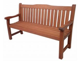 Bank 3-Sitzer SIESTA ca. 1600x950x620 mm aus 100% MTCS* zertifiziertem Meranti-Holz RL3040