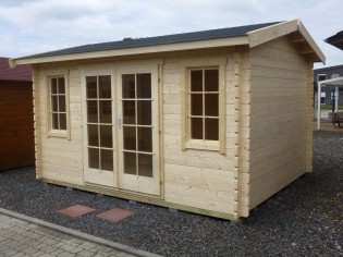Gartenhaus STEINFURT - mit Boden_ 2 Türen