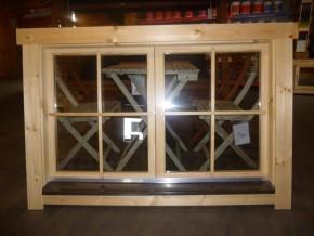 Doppelfenster Doppel-, Isolierglas 1380x880mm