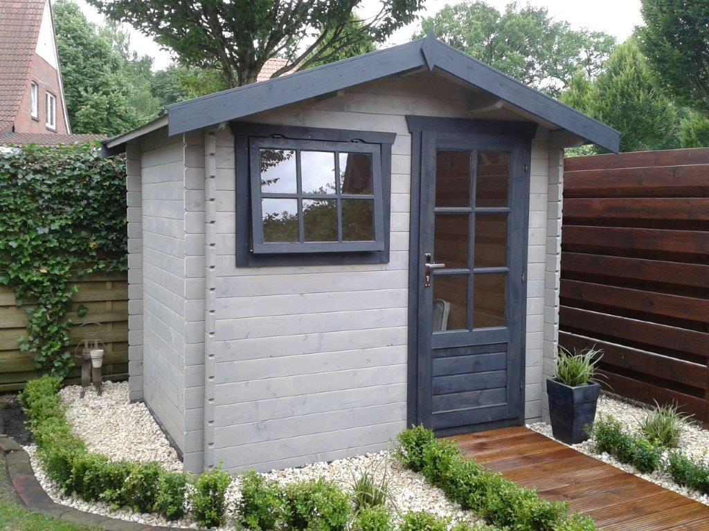 Gartenhaus LILY   2,5 x 2,0m   Garten Akzent