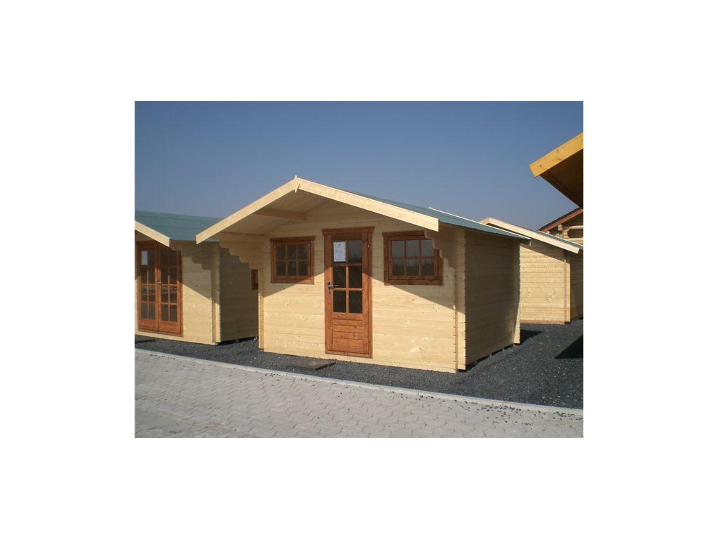 gartenhaus emily 3 8 x 3 0m garten akzent. Black Bedroom Furniture Sets. Home Design Ideas