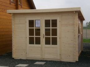 Gartenhaus ANKONA - 3,00 x 3,50m mit Boden