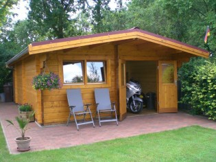 Gartenhaus JULIAN 54 - 5,0 x 4,0m mit Boden
