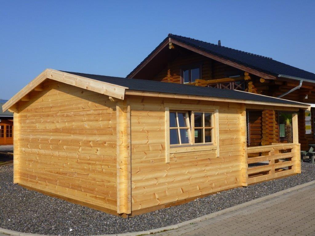 gartenhaus hugo 54 5 0 x 4 0m 3m veranda garten akzent. Black Bedroom Furniture Sets. Home Design Ideas