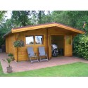 Gartenhaus JULIAN 66 - 6,0 x 6,0m