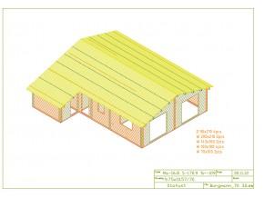 Wochenendhaus, Ferienhaus, Blockhaus mit 5 Räumen und Anbau HELSINKI