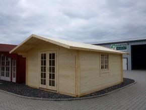 Gartenhaus CHRISTEL - 4,00 x 5,00m mit Boden
