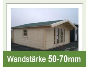 Gartenhäuser 50-70mm