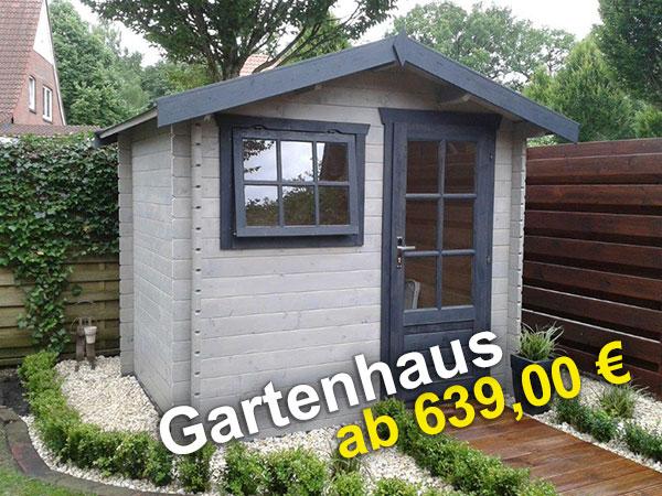 Gartenhaus günstig schon ab 639 euro kaufen