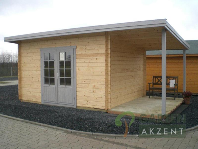 gartenhaus holz flachdach: gartenhaus flachdach «lounge größe, Moderne